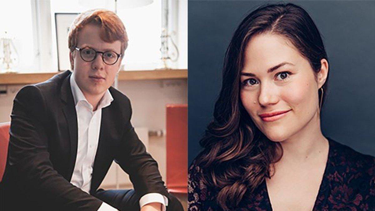 Koncert Musikforeningen kl.15.Clara Cecilie Thomsen Elias Holm