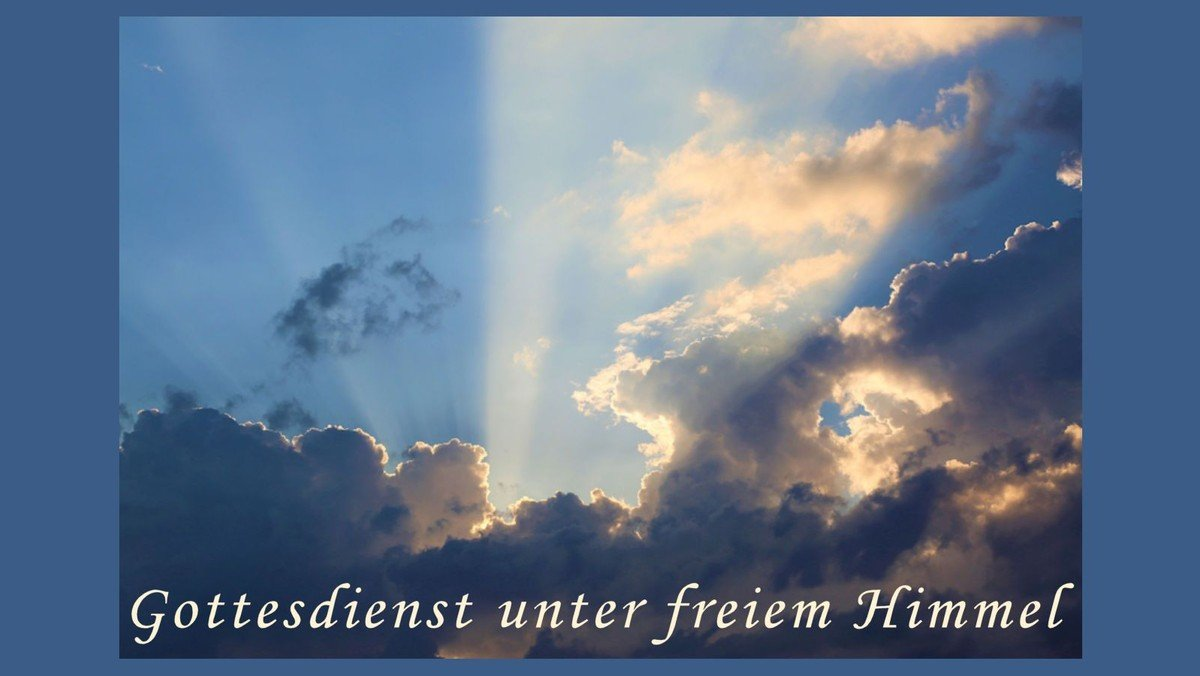 Open-Air-Gottesdienst an Laetare