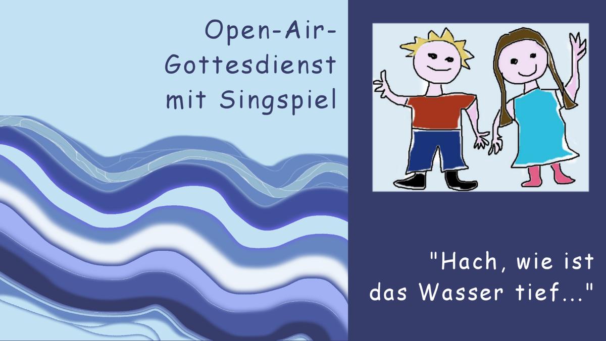 Open-Air-Gottesdienst mit der Kinder- und Jugendkantorei