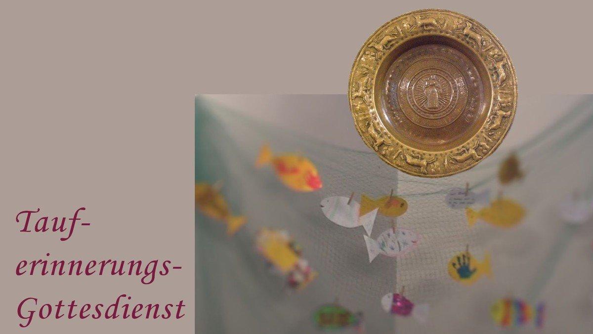 Tauferinnerung am Ersten  Advent