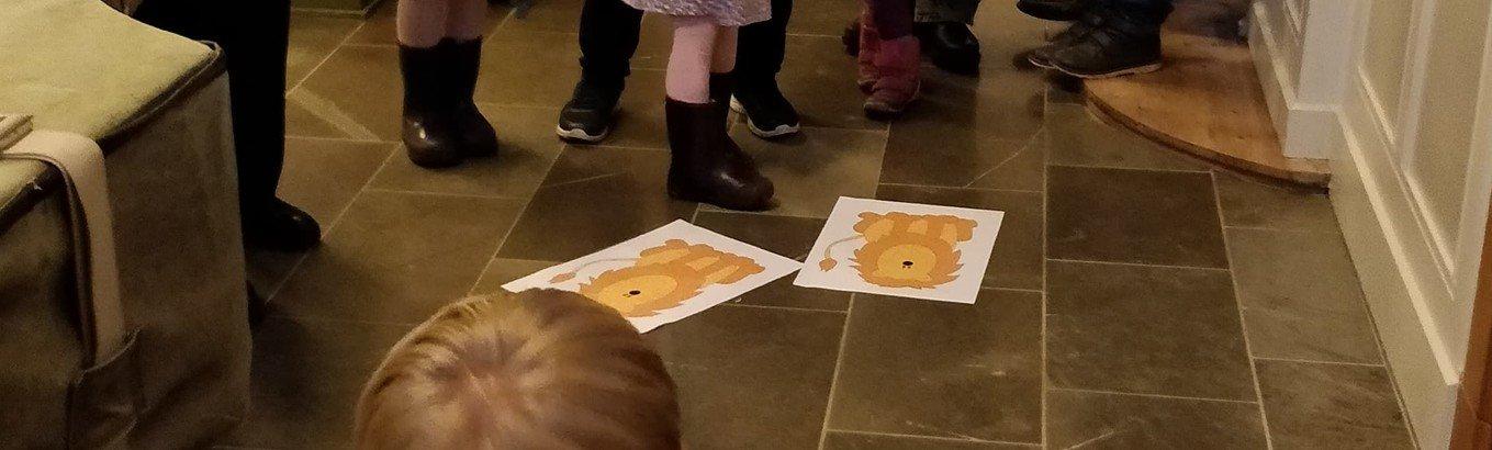 Familiens time i kirken