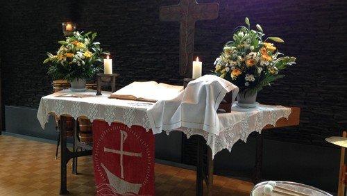 Pfingstgottesdienst in Blumhardt mit Pia Rübenach
