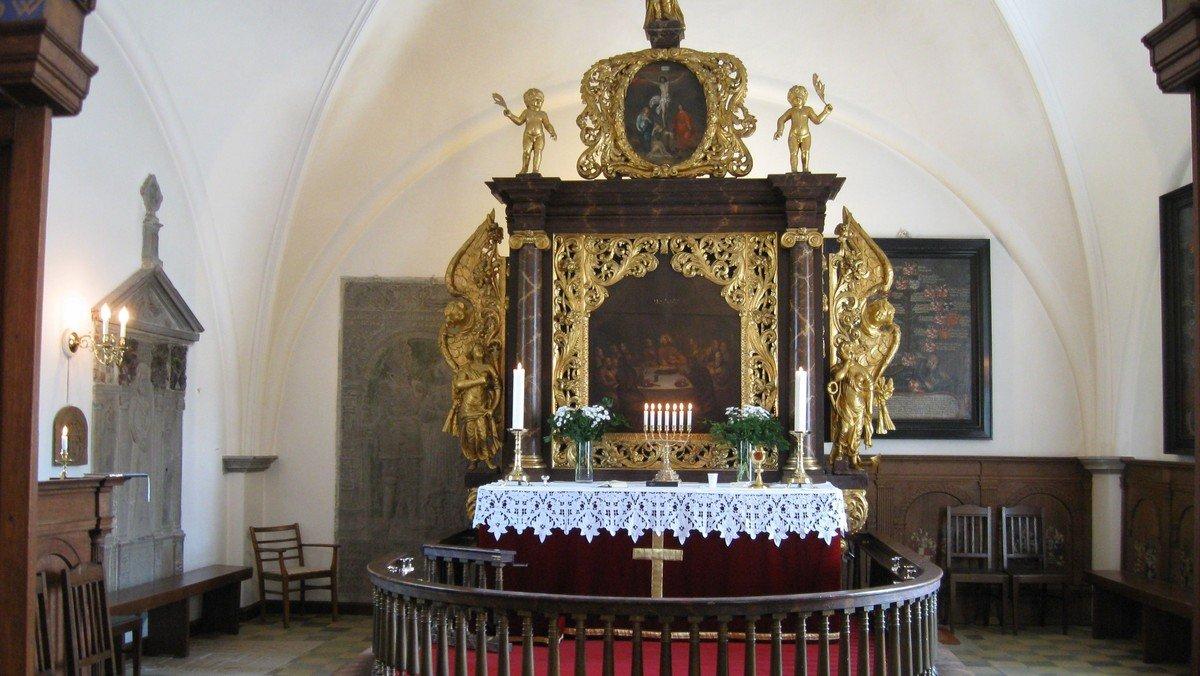 Gudstjeneste i Valløby Kirke