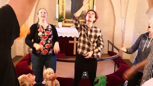 Tumlingsalmesang i Ishøj Kirke