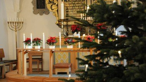 Juleaftensgudstjeneste i Kirken