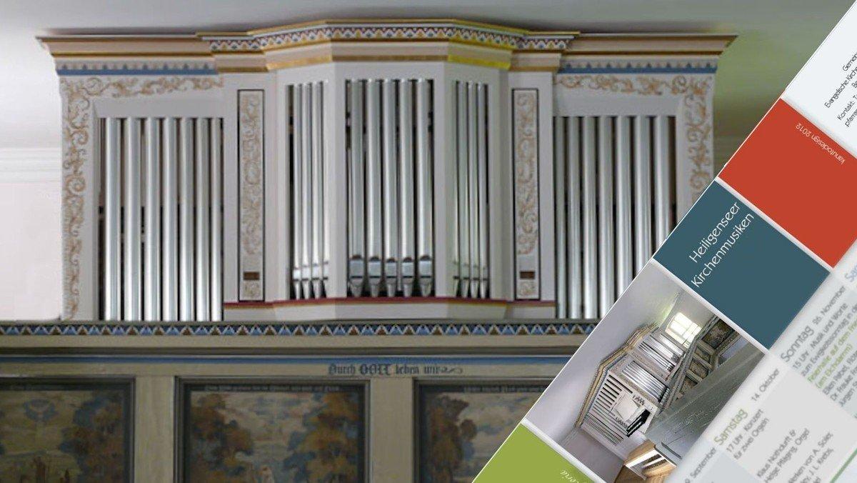"""Orgelkonzert """"... georgelt, nicht gerührt"""""""