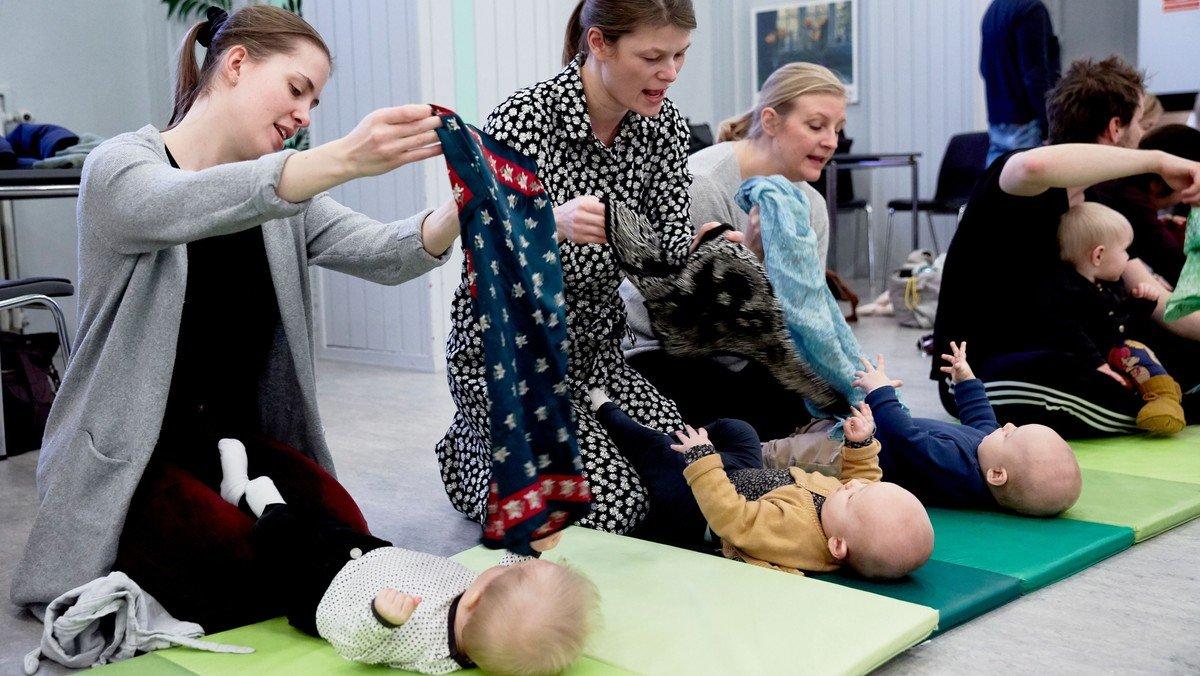 Babyjulegudstjeneste ved Malene Flensborg