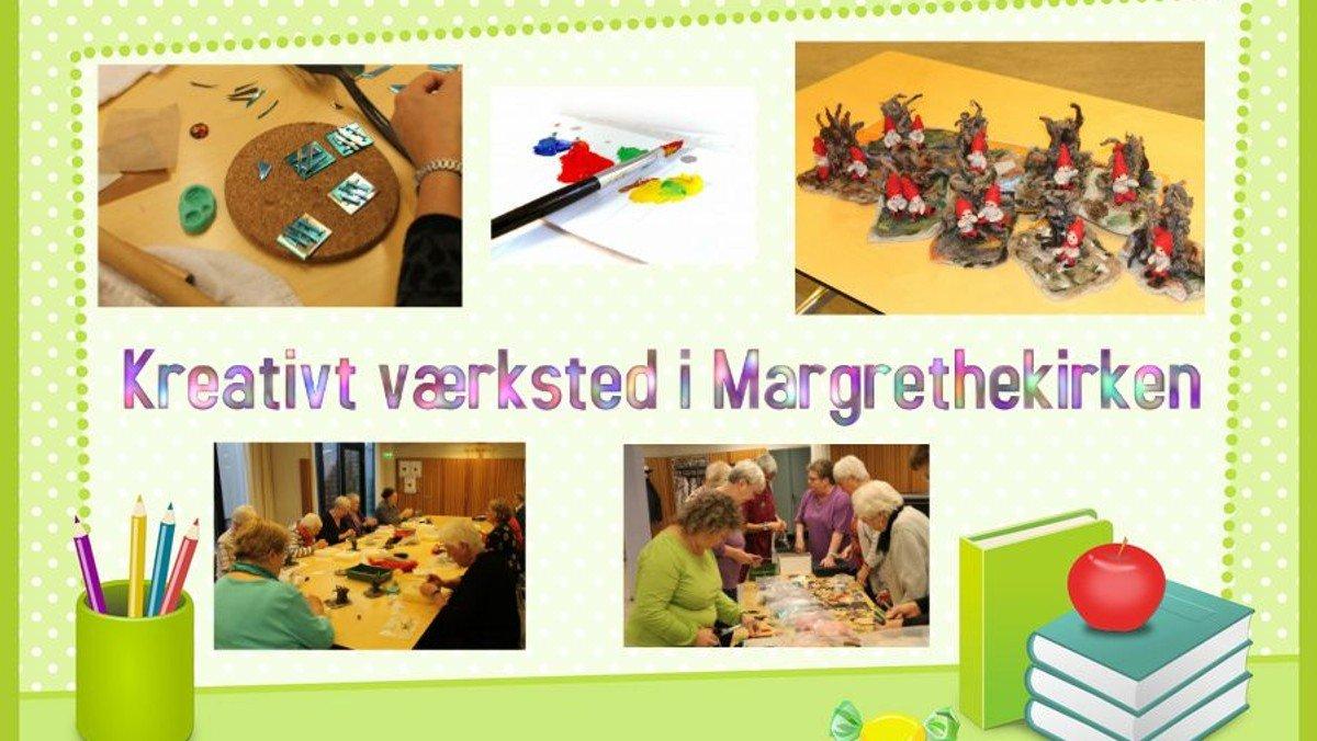 Kreativt værksted i Margrethekirken