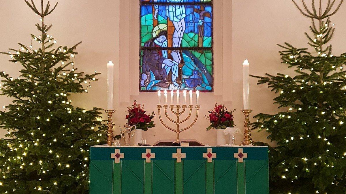 Højdevangskirkens og Menighedsplejens Julefest