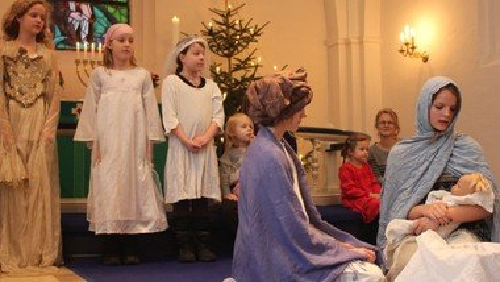 Børnegudstjeneste (tilmelding kirkekontoret)