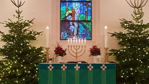 Julegudstjeneste (tilmelding kirkekontoret)