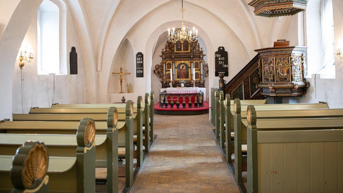 Gudstjeneste i Tune Kirke