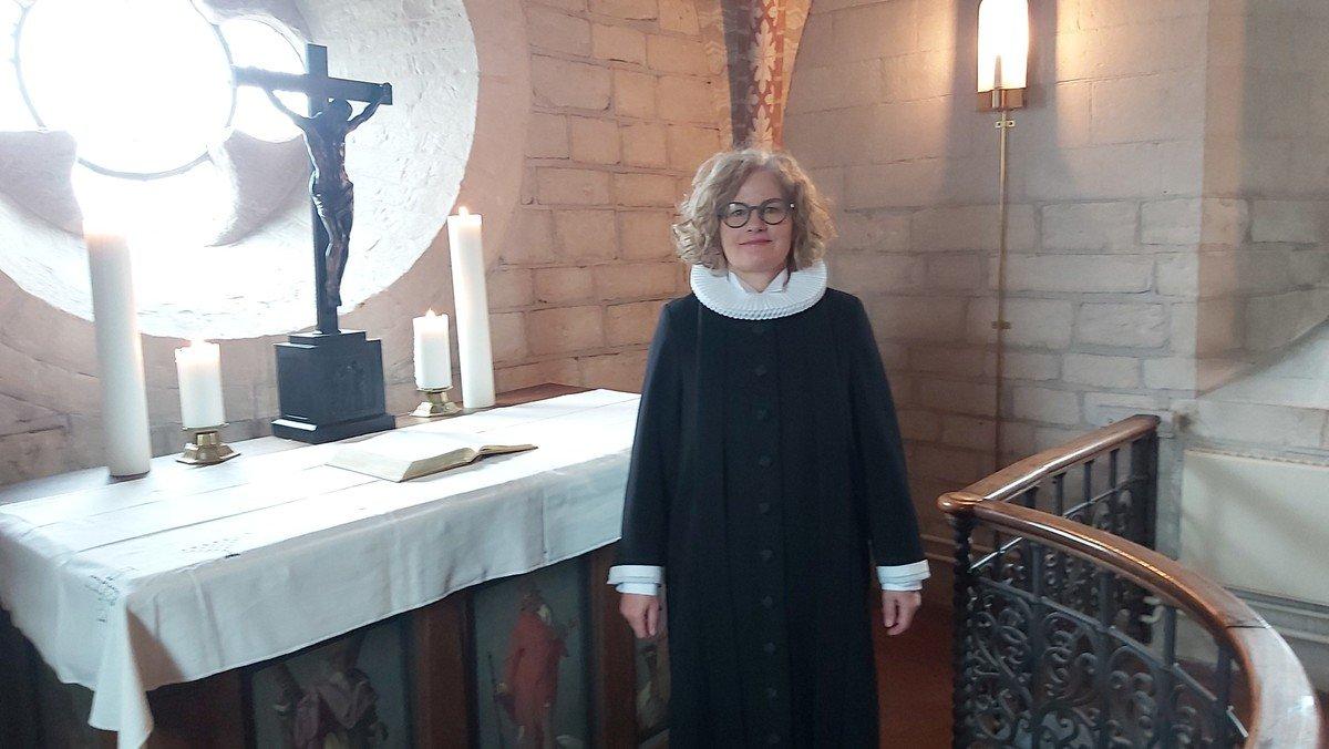 Gudstjeneste i Ledøje kirke - 18. s. efter Trinitatis fra anden række