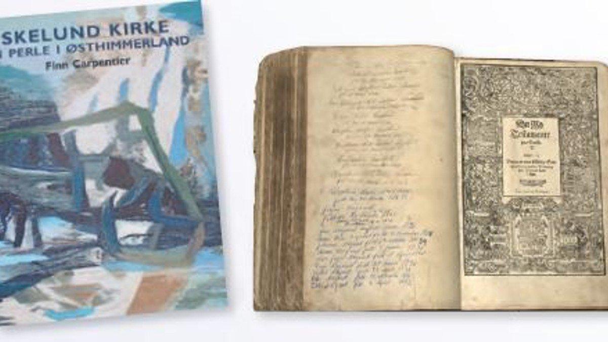 """Gudstjeneste Skelund kirke og  efterfølgende bogpræsentation """"Skelund Kirke i fortid og nutid"""" v. Finn Carpentier"""