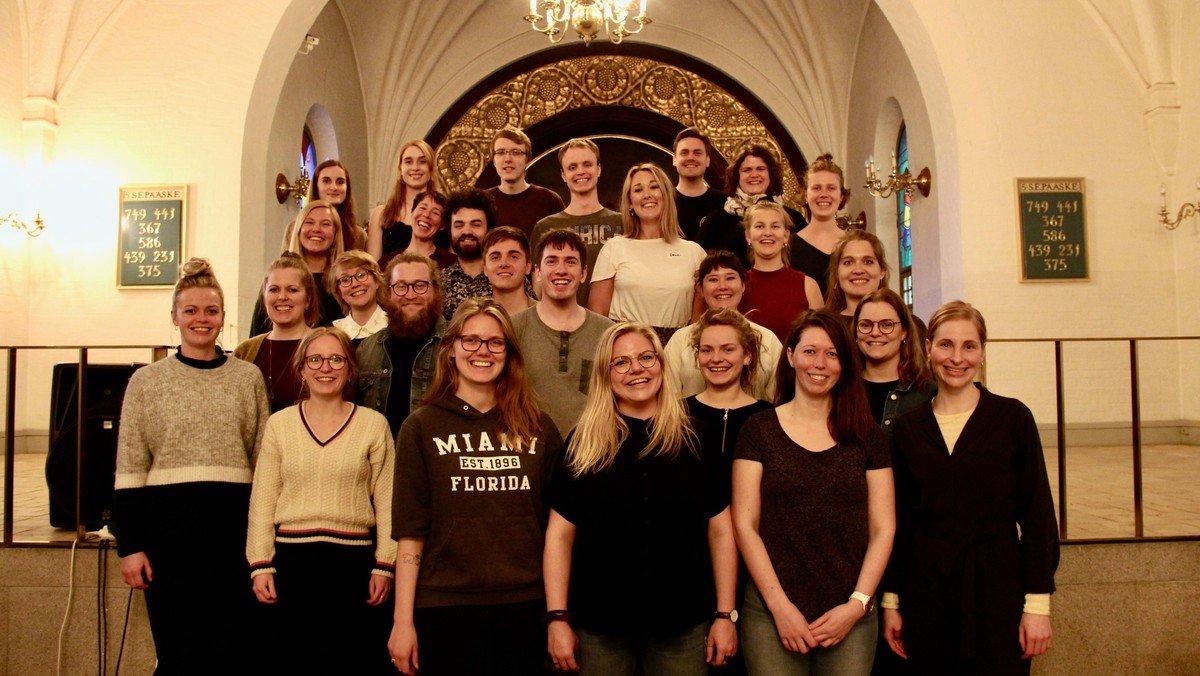 AFLYST! Koncert med Joyful Voices