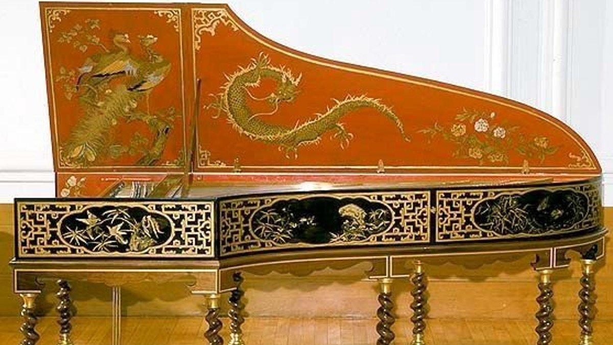 Fransk cembalomusik fra Ludwig den 15. tid.