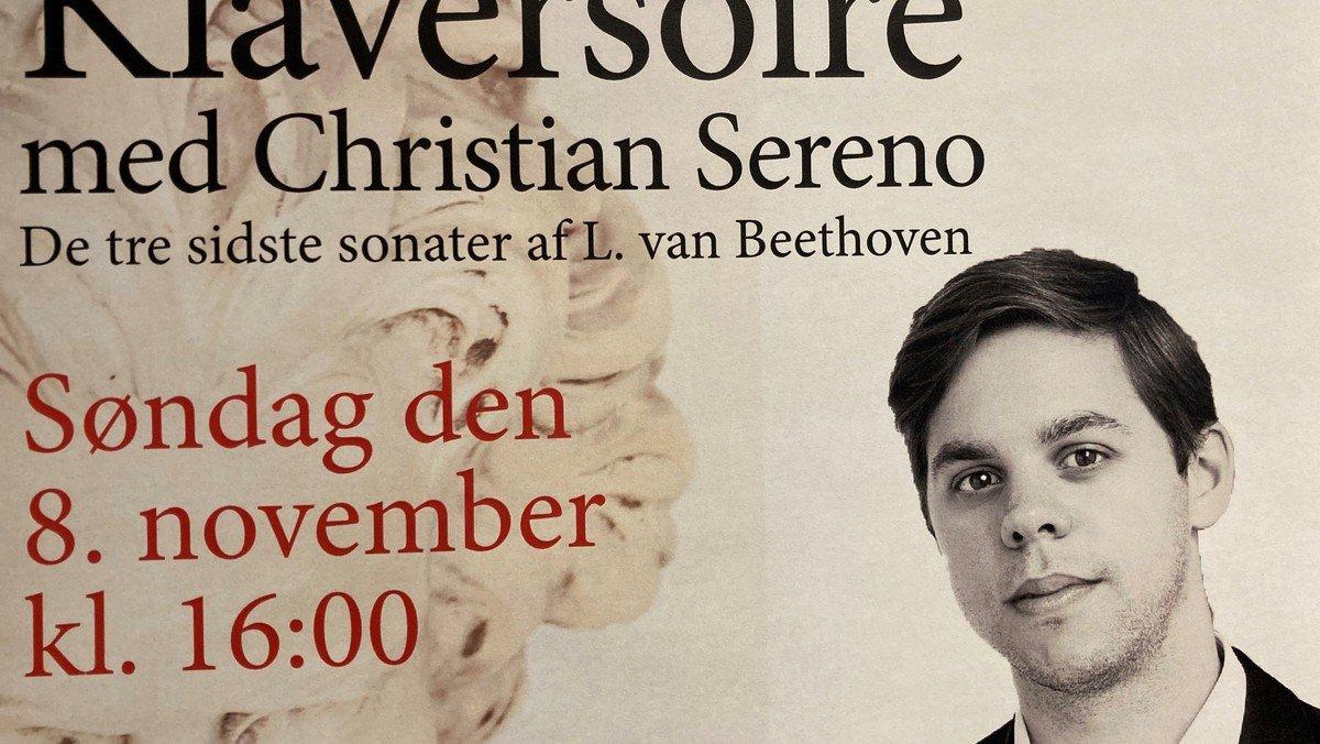 Koncert: Beethoven klaversonater - Christian Sereno
