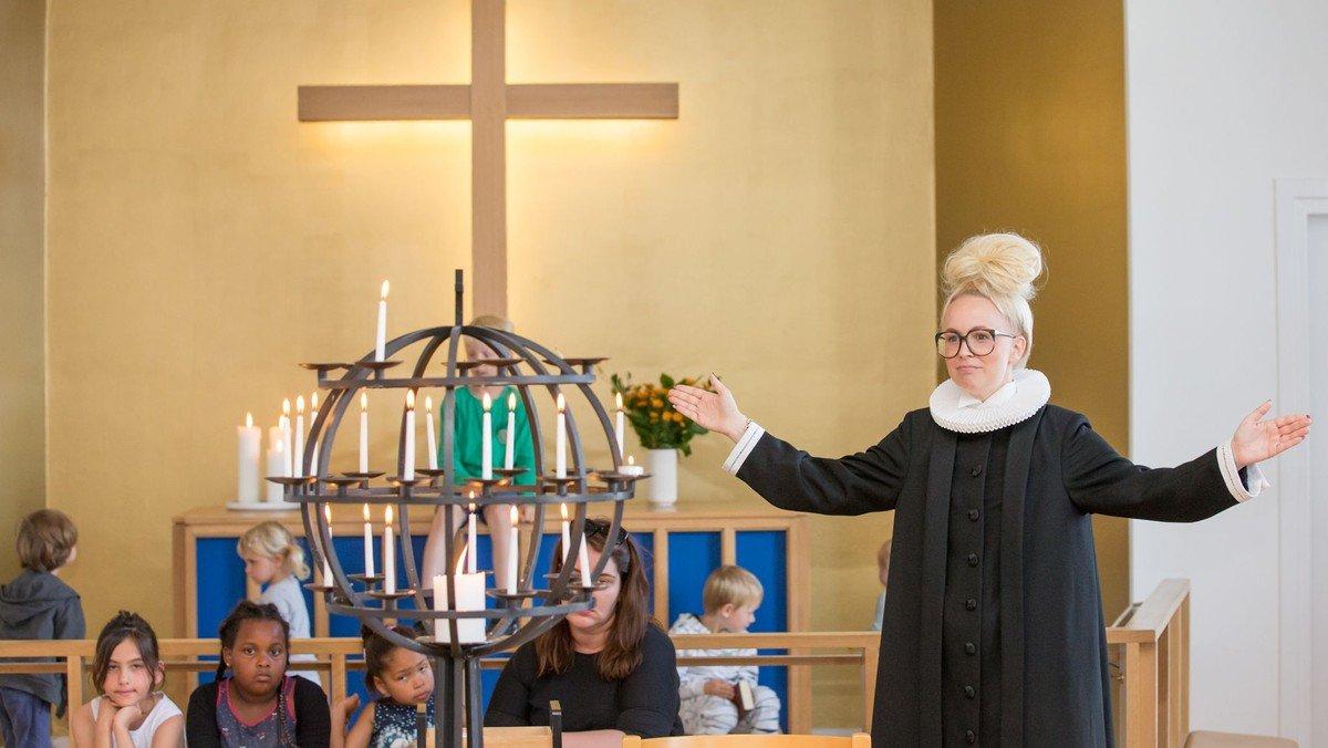 AFLYST Julegudstjeneste v/Ingrid Gadager i Frederiksholm kirke