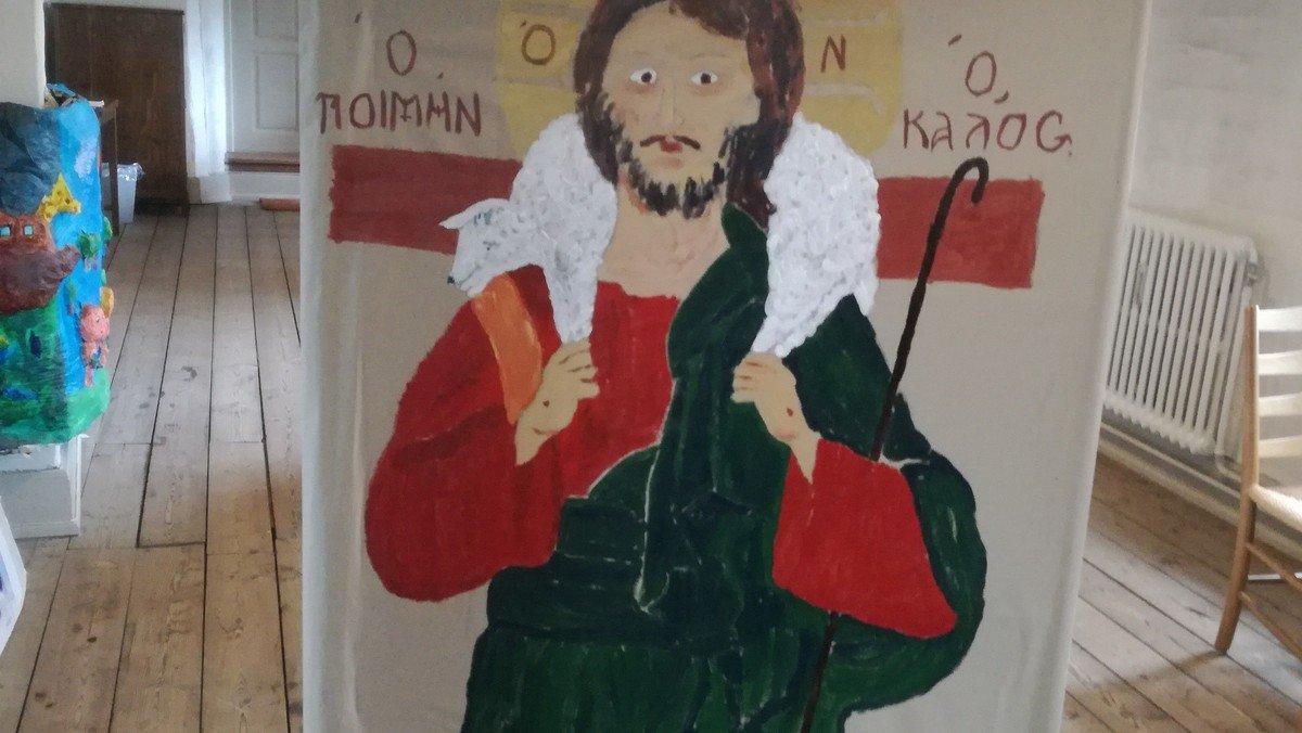 Kreativ formiddag for børn i Klosterkirken