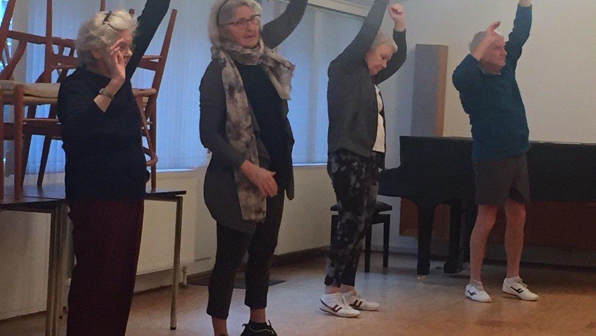 Motion  for ældre hold 1