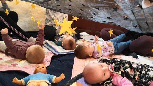 Babysalmesang i Hellevad Kirke