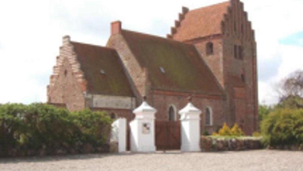 Højmesse i Keldby Kirke ved Lene Skov Opsahl
