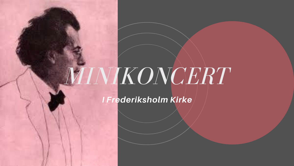 Postludiumkoncert på orgel - Mahler v/ Carsten Mølholm