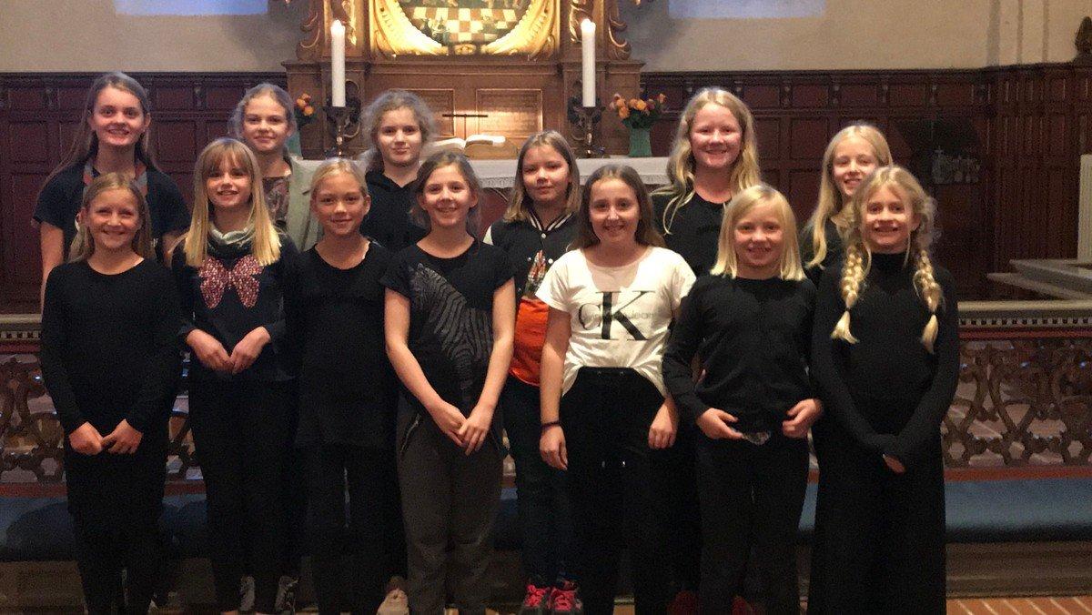 Juniorkor i kirken