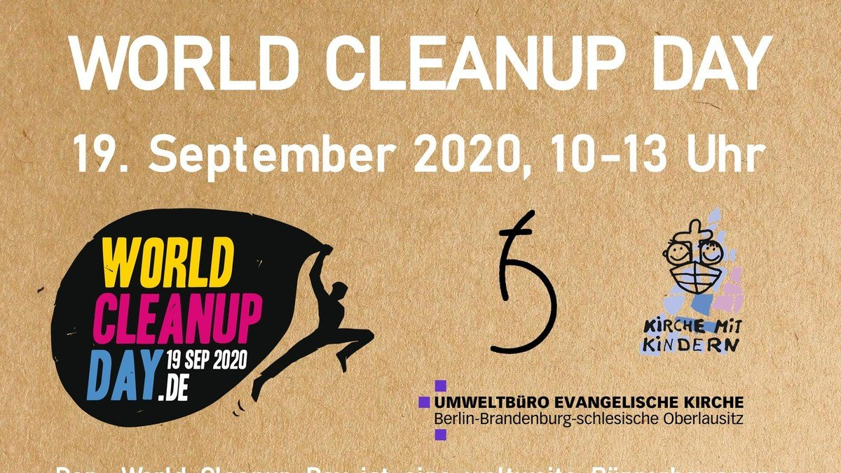 World Cleanup Day in Seelow
