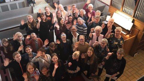 AFLYST! Forårskoncert med Hellevad-Ørum Kirkekor i Hellevad Kirke
