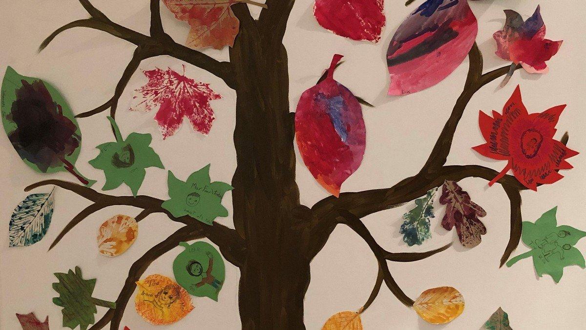 Krea-dag: kastanjer og efterårsblade