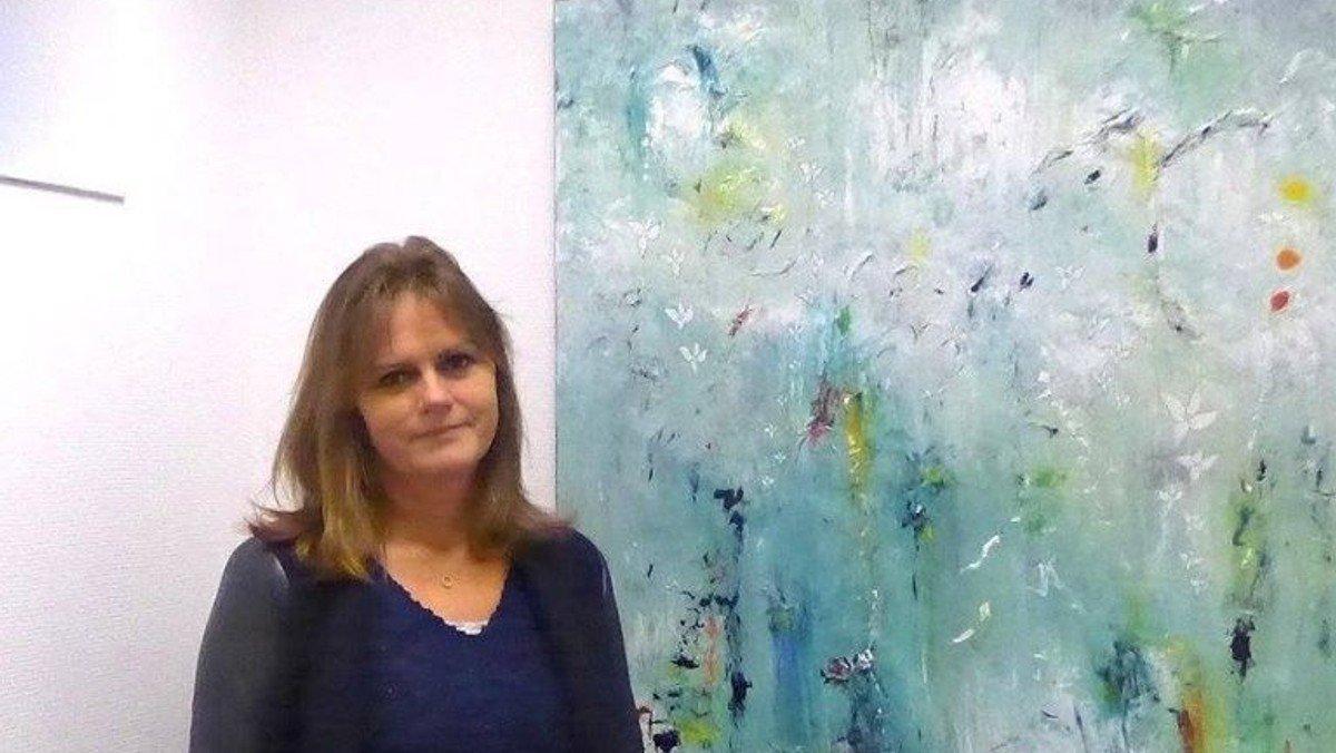 Fernisering ved Ann -Vibeke Munter
