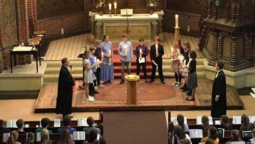 St. Bartholomäus: Zwei Tauf-Gottesdienste der Konfirmand*innen um 9.30 Uhr und 11.00 Uhr