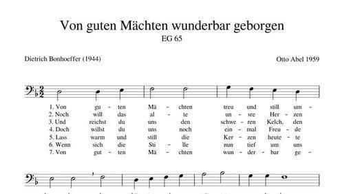 Immanuel: Musik und Wort