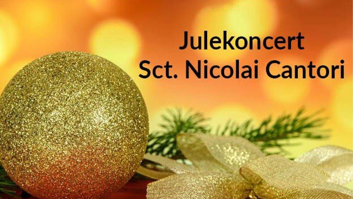 AFLYST! Julekoncert med Sct. Nicolai kirkes Cantori