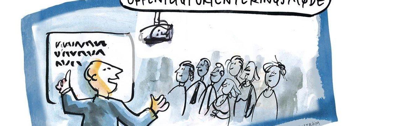 Orienteringsmøde og menighedsmøde