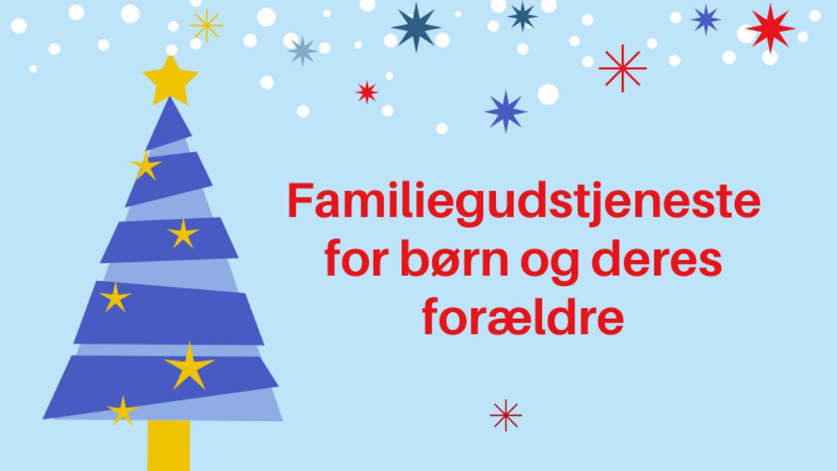 Jul i Johannes - eftermiddagsgudstjeneste for børn