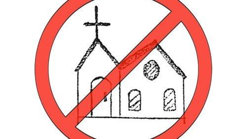 INGEN gudstjeneste - vi henviser til nabokirkerne