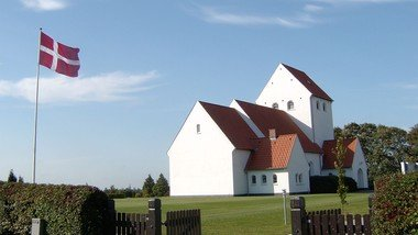 Konfirmation i Hampen kirke