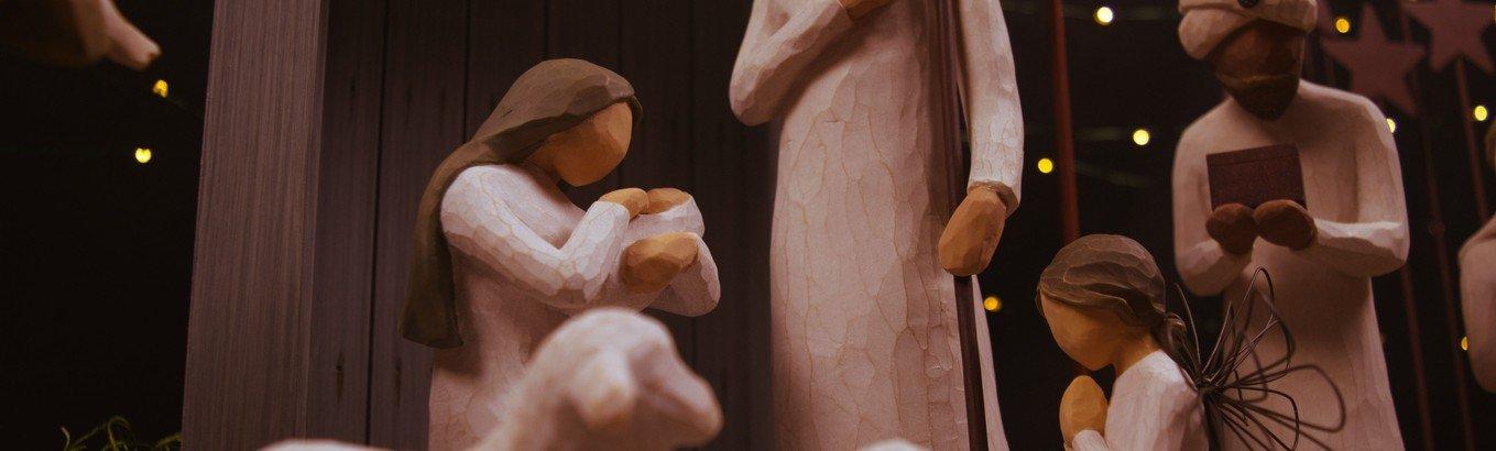 Juleaften i hallen for børnefamilier ved Peter Krabbe-Larsen