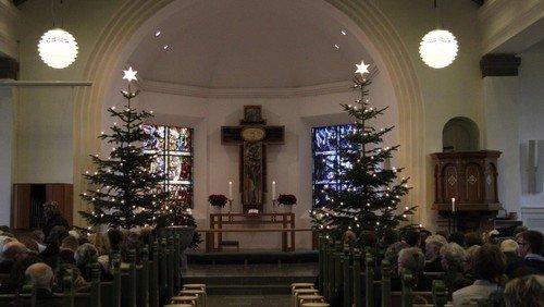 Juleaften i Struer kirke ved Thorkil Lundberg