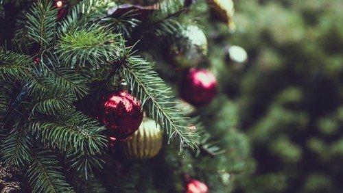 Juleaften i hallen ved Peter Krabbe-Larsen
