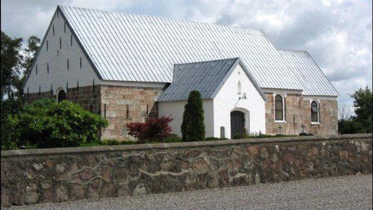 Gudstjeneste Brørup gl. Kirke IB