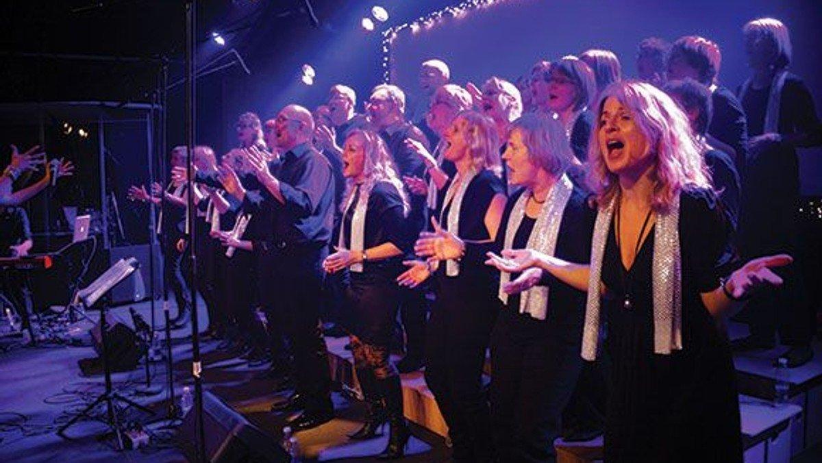 Julekoncert med Glostrup Gospel