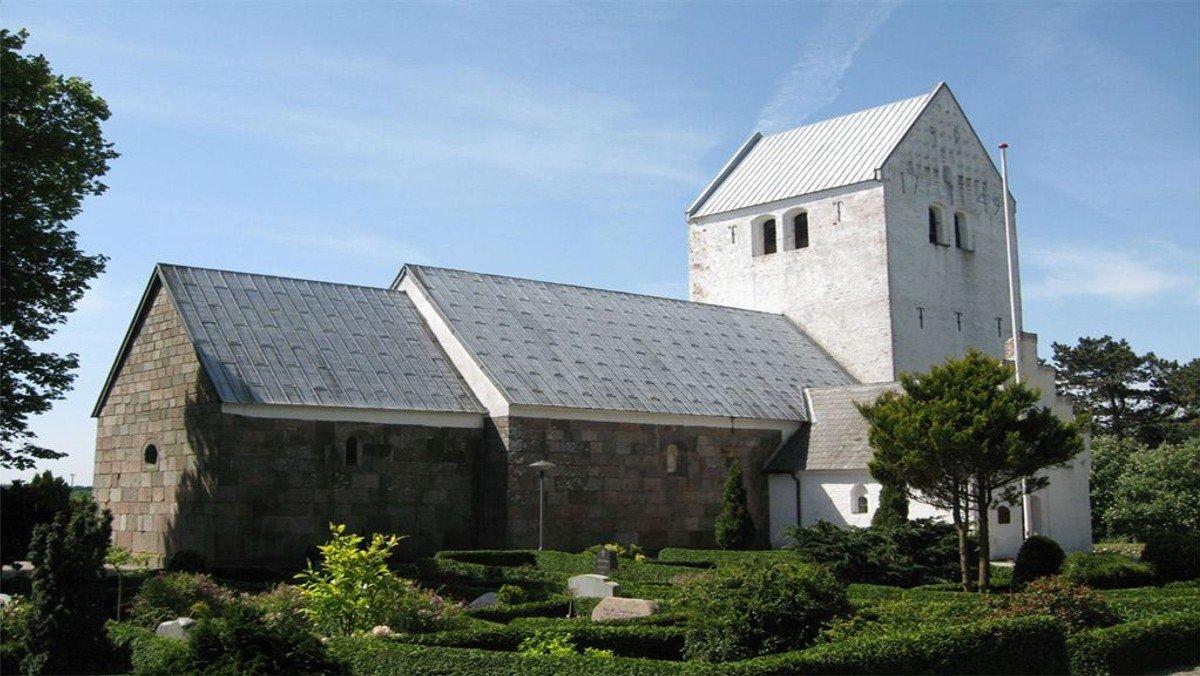 Gudstjeneste i Rimsø Kirke