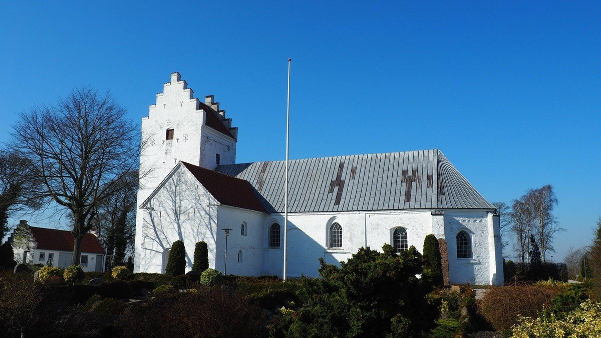 Alle Helgens Dag gudstjeneste i Voldby Kirke