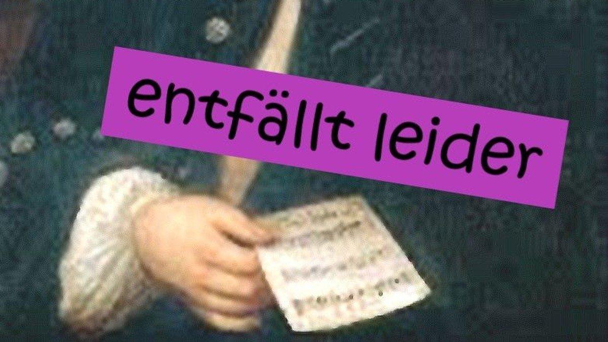 abgesagt !!! Konzert am Ewigkeitssonntag