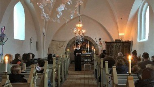 Halloween i Ellidshøj kirke