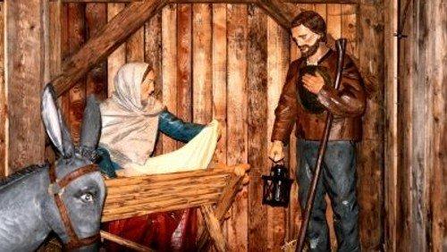 """""""Maria liest und Josef hält das Kind..."""" Gottesdienst am Weihnachtsmorgen mit Pn Paap"""