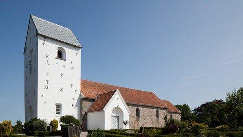 Gudstjenste i Vokslev kirke
